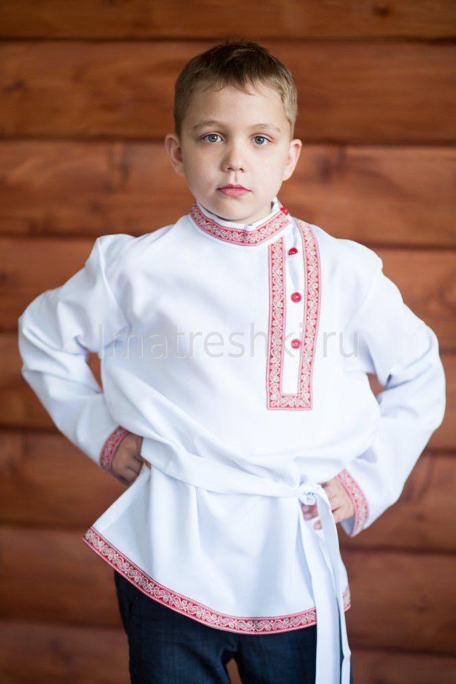 Русско народная рубашка для мальчика своими руками