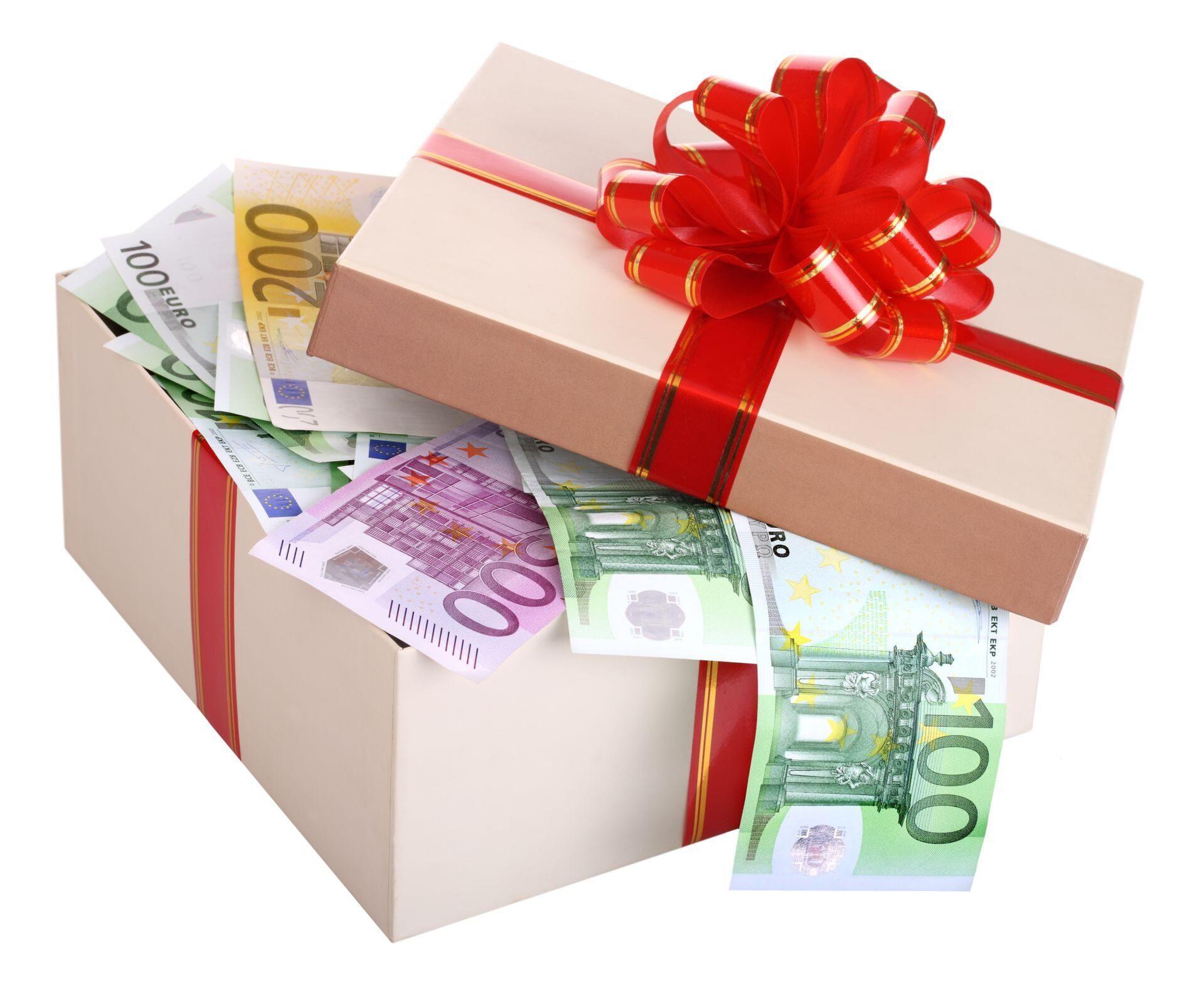 Подарочные открытки с деньгами